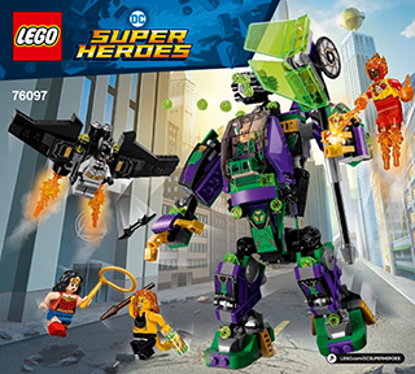 Picture of LEGO DC Super Heroes Batman w/ Wonder Woman #76097